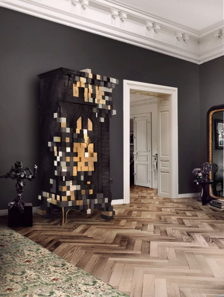 Modern Cabinets With Style - Pixelated Furniture Ideas