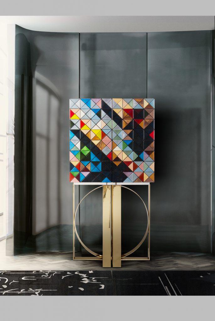 Pixel Luxury Cabinet In Milan - Visit The Illulian Showroom